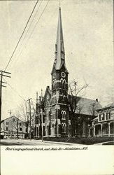 First Congregational Church, east Main St