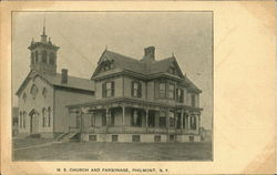 M. E. Church And Parsonage