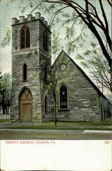 Trinity Church Postcard