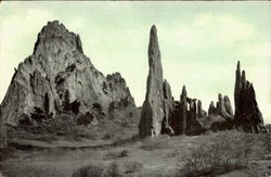 Cathedral Spires, Garden Of Gods