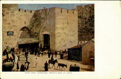 Jaffa Gate Postcard