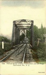 Railroad Bridge between Fulton Chain and Old Forge