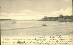 Cresent Beach and Coolidge Point Postcard