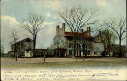 Old Royall House, Showing Slave Qumarters