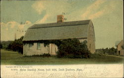 Myles Standish House, Built 1666