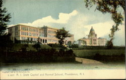 State Capitol and Normal School