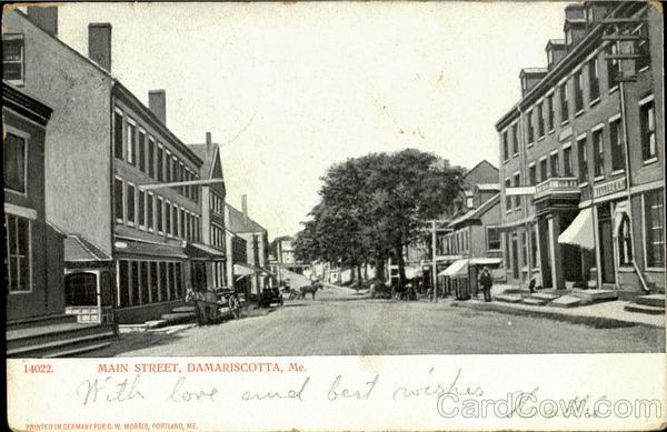 Main Street Damariscotta Maine