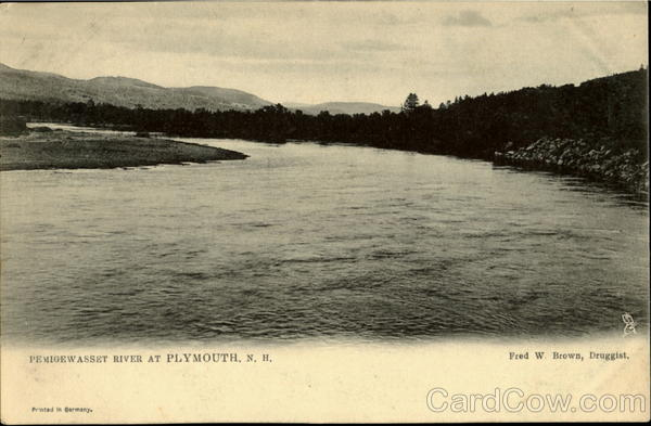 Pemioewasset River at Plymouth New Hampshire