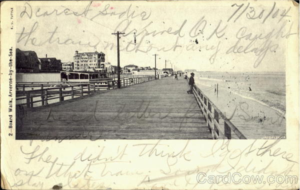 Board Walk Arverne-By-The-Sea New York
