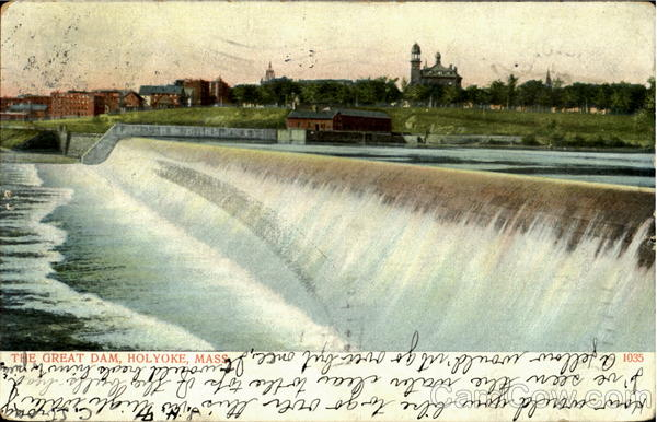 The Great Dam Holyoke Massachusetts