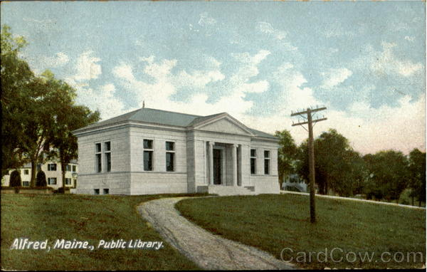 Public Library Alfred Maine