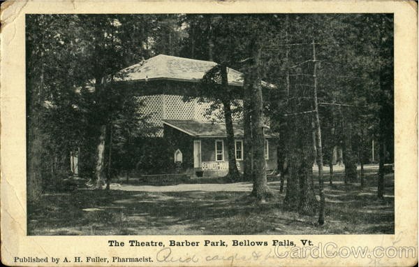 The Theatre, Barber Park Bellows Falls Vermont