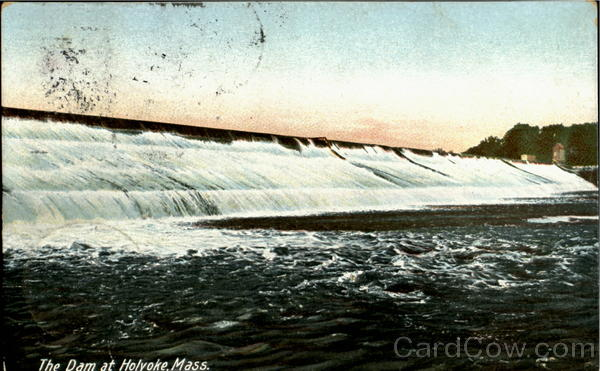 The Dam at Holyoke Massachusetts