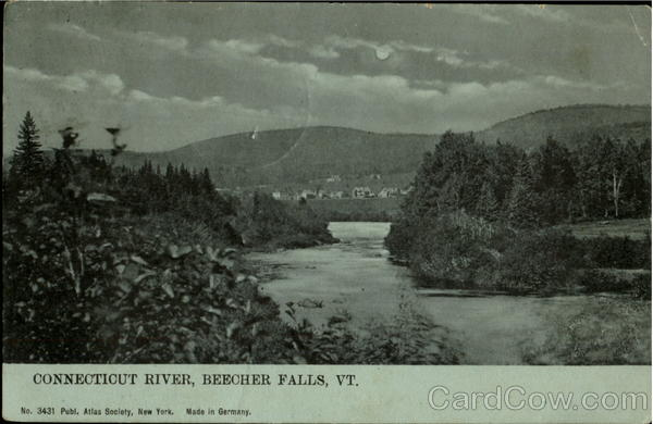 Connecticut River Beecher Falls Vermont