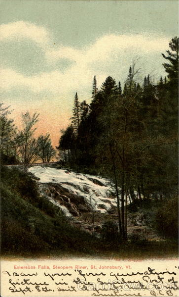 Emersons Falls, Sieopers River St. Johnsbury Vermont