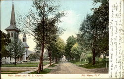 Main Street and M.E.Church