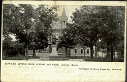 Edward Little High School And Park