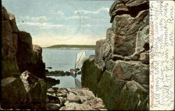 Scene Of John'S Island Pemaquid Harbor