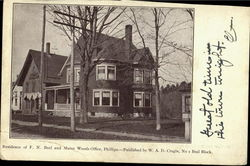 Residence Of F.N. Beal And Maine Woods Office