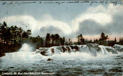 West Pitch Falls Of The Androscoggin