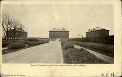 Hyannis Training School, State Normal School And Dormitory