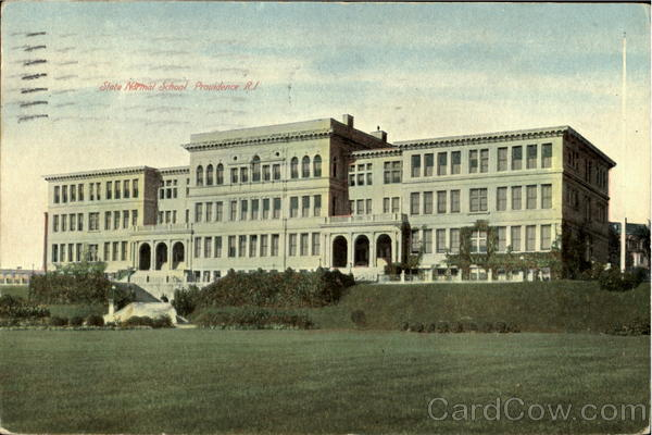 State Normal School Providence Rhode Island