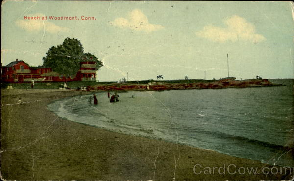 Beach at Woodmont Connecticut