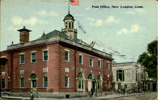 Post Office New London Connecticut