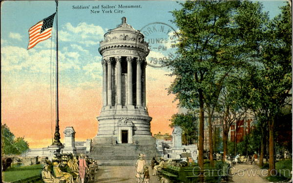 Soldiers' and Sailors Monument New York City