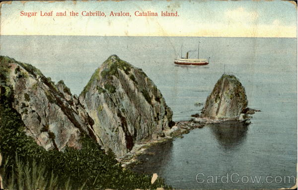Sugar Loaf And The Cabrillo, Avalon Catalina Island California