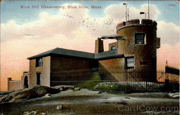 Blue Hill Observatory Blue Hills Massachusetts