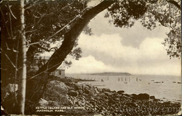 Kettle Island And Old Wharf Magnolia Massachusetts