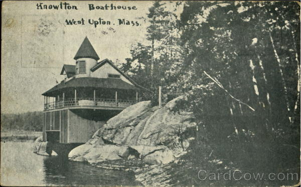 Knowlton Boathouse West Upton Massachusetts