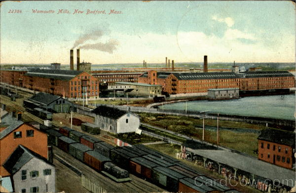 Wamsutta Mills New Bedford Massachusetts
