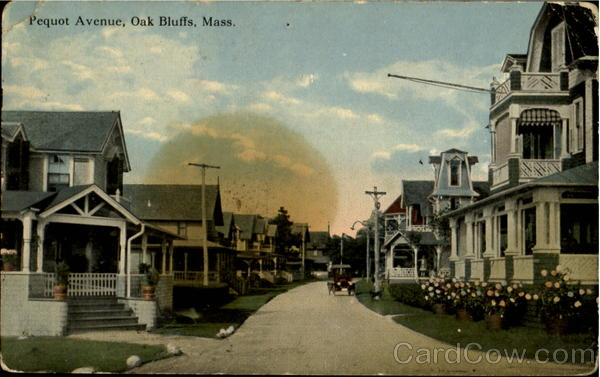 Pequot Avenue Oak Bluffs Massachusetts