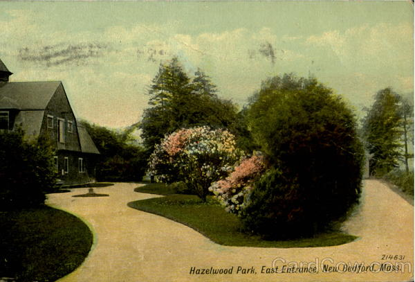 Hazelwood Park, East Entrance New Bedford Massachusetts
