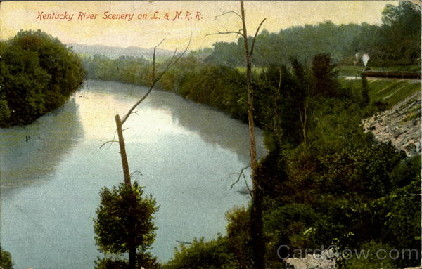 Kentucky River Scenery On L.& N.R.R Railroad (Scenic)