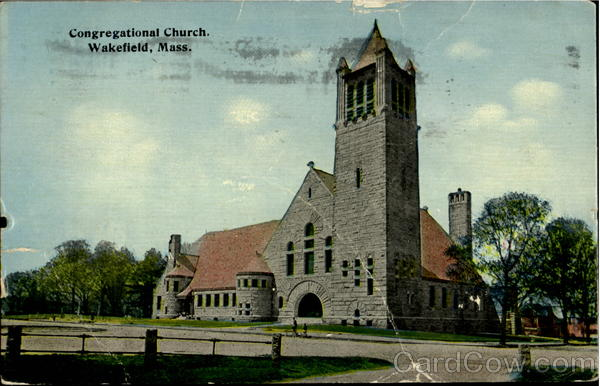 Congregational Church Wakefield Massachusetts