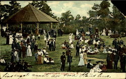 On the Lawn at Cresent Park
