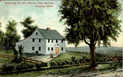 Birthplace Of Warren From Painting