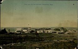 View From The Faqir Grounds Postcard