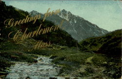 Greetings from Charlemont Postcard