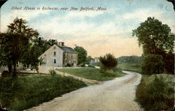 Oldest House in Rochester, near New Bedford Postcard