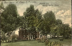 Residence of Chas. K. Bolton, Pound Hill
