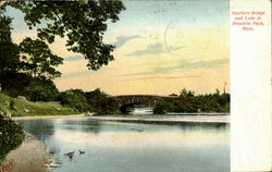 Scarboro Bridge And Lake In Franklin Park