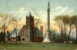 Congregational Church & Soldier Monument