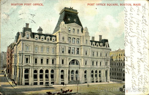 Boston Post Office, Post Office Square Massachusetts