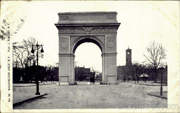 Washington Arch New York City