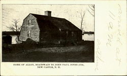 Home Of Allen, Boatswain To John Paul Jones(1734)