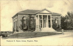 Fredrick E. Adams Library Postcard